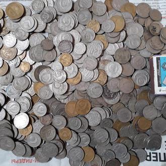 500 монет до реформы, из бабушкиной ваэы.