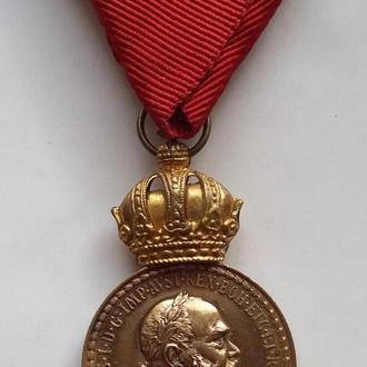 За военные заслуги Signum Laudis Австро - Венгрия
