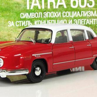 TATRA 603-1 Автолегенды СССР и соцстран №145 - блистер вскрыт
