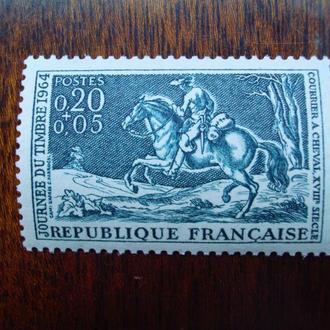 Франция.1964г. Воин на коне. Полная серия. MNH