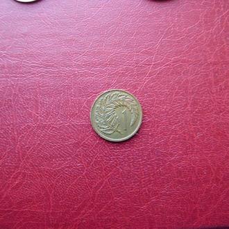 Новая Зеландия 1 цент 1967