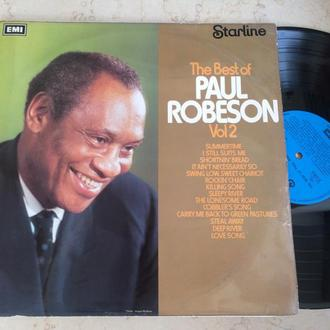 Paul Robeson – The Best Of Paul Robeson Volume 2  ( UK )  LP