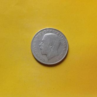 Великобритания 1 шилинг 1922 г. Серебро