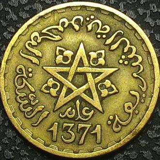 Марокко 20 франк 1952 год