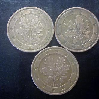 5 евроцентов (2002-A) Германия.
