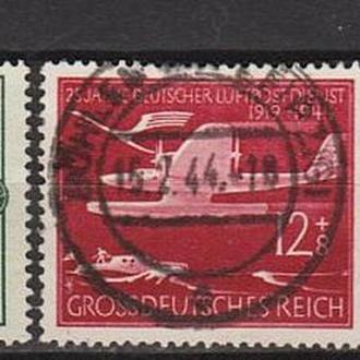 1944 - Рейх - 25 летие авиапочты Mi.866-68  _6,0 EU