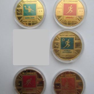 Медали Олимпиада 2012 Лондон Пиктограммы - 5 штук на выбор