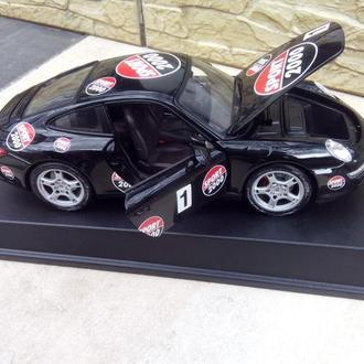 авто 1 18 Maisto- Porsche 911 Carrera S black