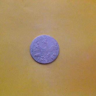 Пруссия 3 гроша 1785 г. Серебро