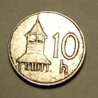 10 геллеров 1993 года Словакия !!! а2