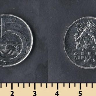 ЧЕХИЯ 5 КРОН 1993-2015