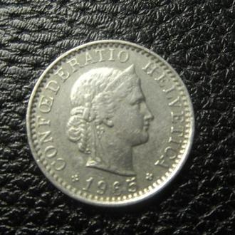 20 рапенів 1965 B Швейцарія