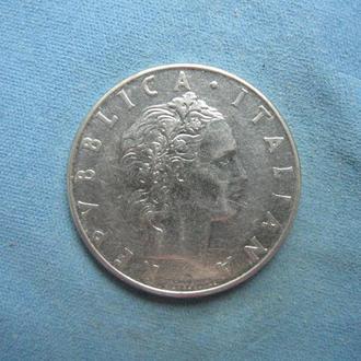 Италия 50 лир 1978 год