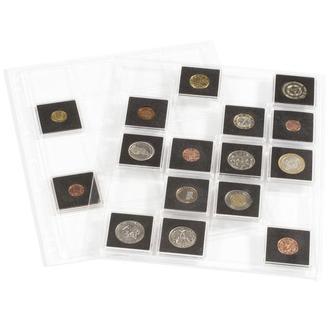 Лист ENCAP для монет в капсулах QUADRUM 52*52 mm