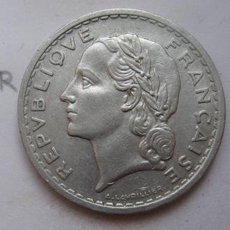 ФРАНЦИЯ 5 франков 1950 года.