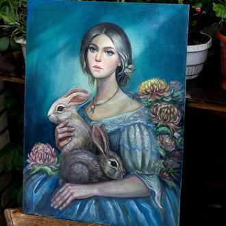 Дама с кроликами