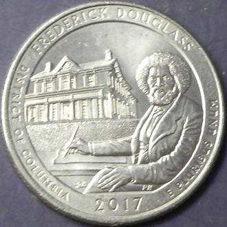 25 центів 2017 P США Фредерік Дуглас