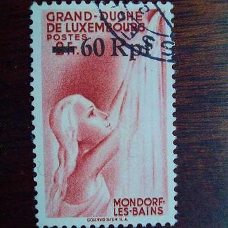 3-ий Рейх.1940г. Оккупация. Надпечатка на марке Люксембурга. КЦ 12.00 EUR!