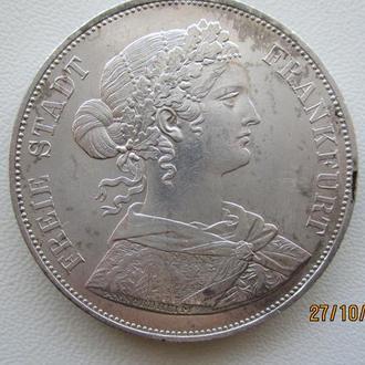 2 талера (союзних талера, vereinsthaler) 1861 рік
