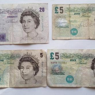 35 ( 20 + 3 X 5 ) фунтов  Великобритания  Англия