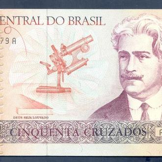 Боны Америка Бразилия 50 крузадо 1986 г.