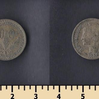 Камерун 50 сантимов 1926