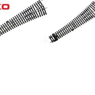 Cтрелки прямые PIKO A-Gleis левая + правая 55220/55221 BWL/BWR