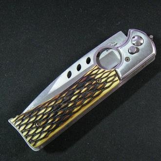 Ножик Нож походный туристический выкидной б/у