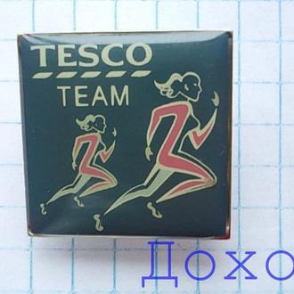 Значок спорт команды TESCO team badges