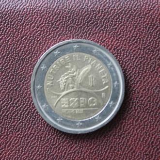 Италия. 2 евро. 2015г.