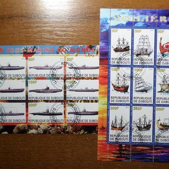 Джибути подводная лодка корабль 2010-2011
