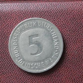 Германия. 5 марок. 1990г. D