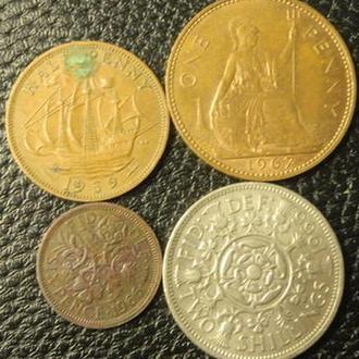 Дореформенні британські монети - Єлизавета