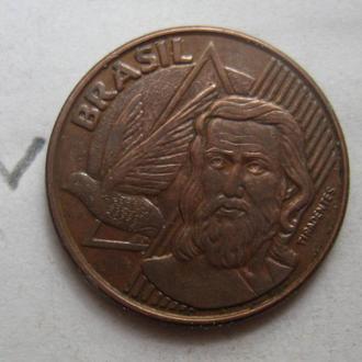 5 сентаво 2007 г. БРАЗИЛИЯ.