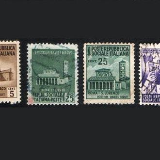 Италия. Социальная республика (1944) Архитектура
