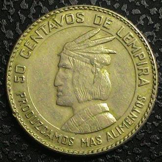 Гондурас 50 центов  1973 год СОСТОЯНИЕ!!!!!
