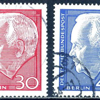 ФРГ. Берлин. Личности  1963, 1967 г.