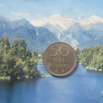 Швеция 50 эре 1973 года