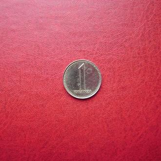 Ангола 1 кванза 1977 (1975)
