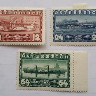 Пароходы Австрия 1937 г
