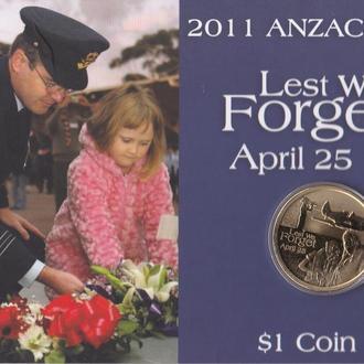 Австралия 1 доллар 2011