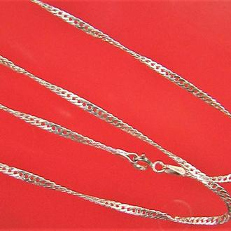 Цепочка серебро 925 проба 3,30 гр. длина 51 см.