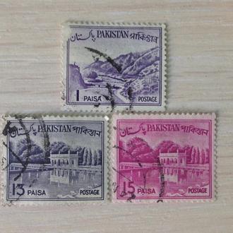 Пакистан. Разные марки.