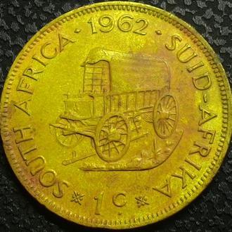 ЮАР 1 цент 1962 год