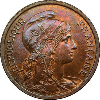 Франція 2 centimes 1903  AU-UNC     B165