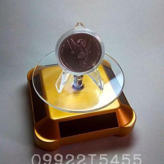 Вращающаяся подставка для Монет/Ювелирных/Бытовых изделий на солнечной батарее