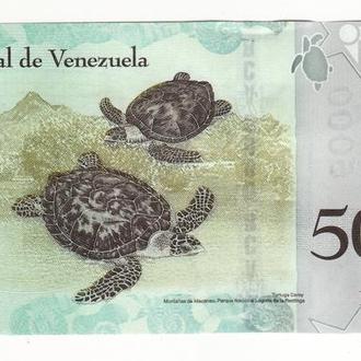 Венесуэла 5000 боливаров 2017 UNC