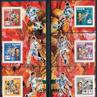 Футбол ЧМ США 1994 Сев.Корея беззуб. MNH