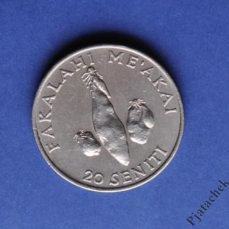 20 сенити 1981 г. Тонга сохран