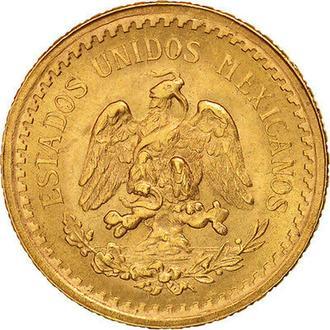 2 песо золото dos pesos gold